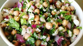 Salad With Chickpeas Wallpaper Gallery