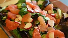 Salad With Grapefruit Photo