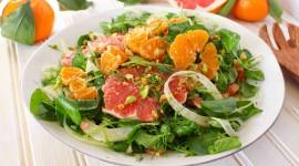 Salad With Grapefruit Photo Free
