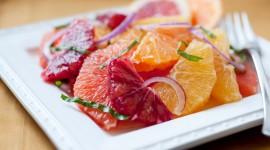 Salad With Grapefruit Wallpaper Gallery