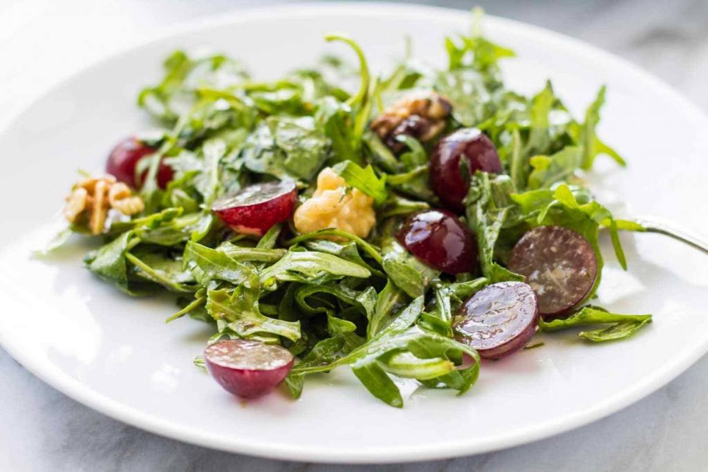 Salad With Grapes wallpapers HD