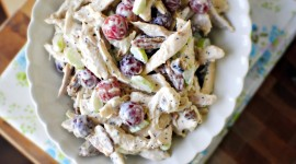 Salad With Grapes Photo Download