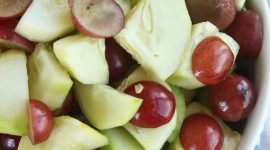 Salad With Grapes Wallpaper For IPhone#1