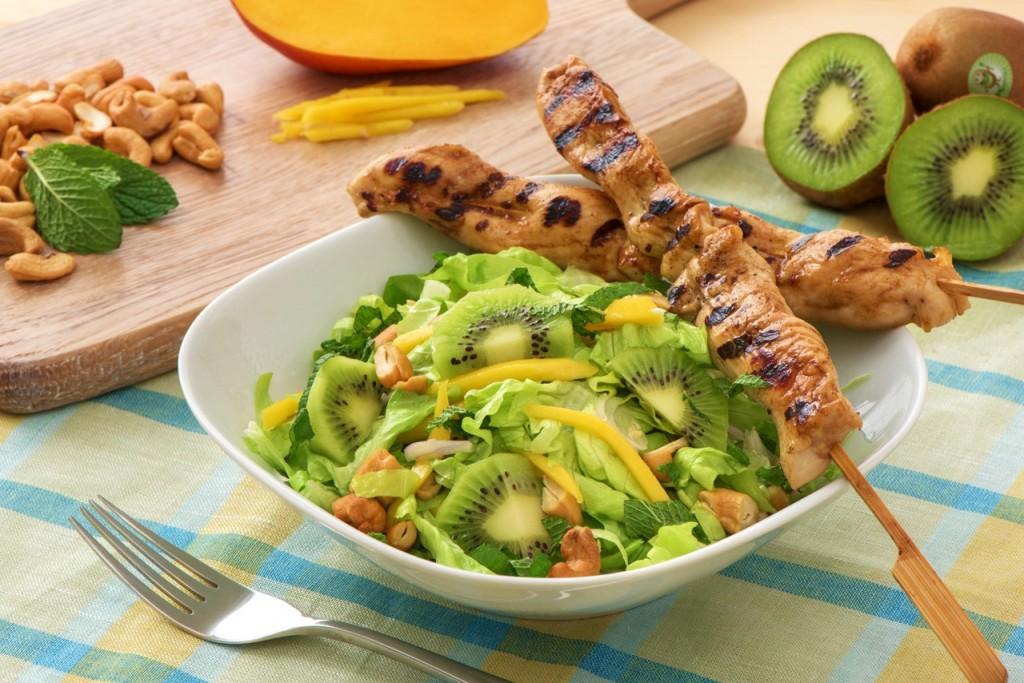Salad With Kiwi wallpapers HD