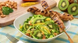 Salad With Kiwi Best Wallpaper