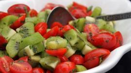Salad With Kiwi Photo Download