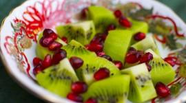 Salad With Kiwi Photo Free