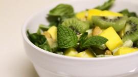Salad With Kiwi Wallpaper Free