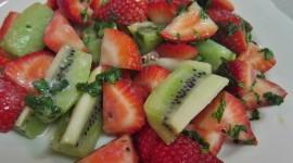 Salad With Kiwi Wallpaper Full HD