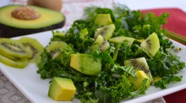Salad With Kiwi Wallpaper Gallery