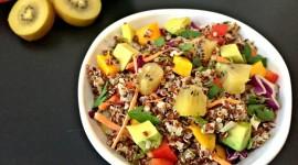 Salad With Kiwi Wallpaper HQ
