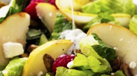 Salad With Pears Wallpaper For Android#1