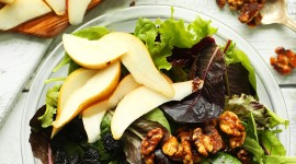 Salad With Pears Wallpaper For IPhone