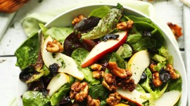 Salad With Pears Wallpaper For IPhone#2