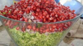 Salad With Pomegranate Photo