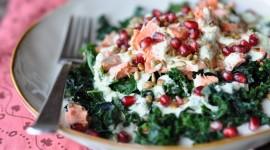 Salad With Pomegranate Photo Free