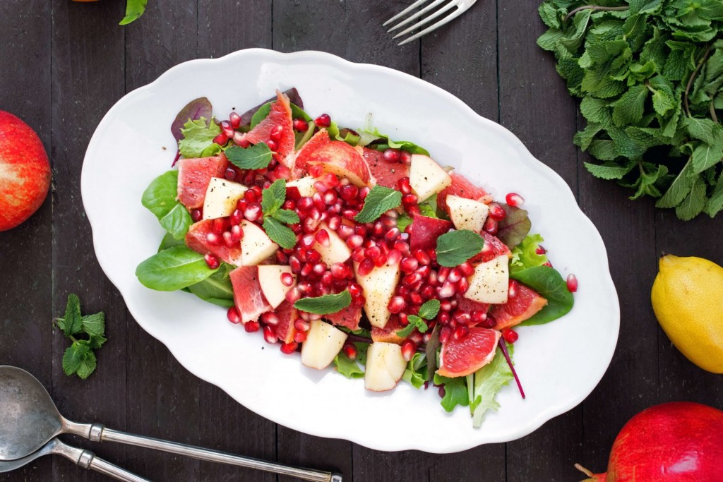 Salad With Pomegranate wallpapers HD