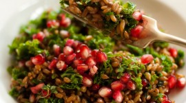 Salad With Pomegranate Wallpaper For Mobile#1