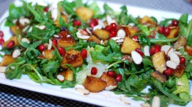 Salad With Pomegranate Wallpaper For PC