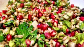Salad With Pomegranate Wallpaper Gallery