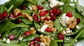 Salad With Pomegranate Wallpaper HQ