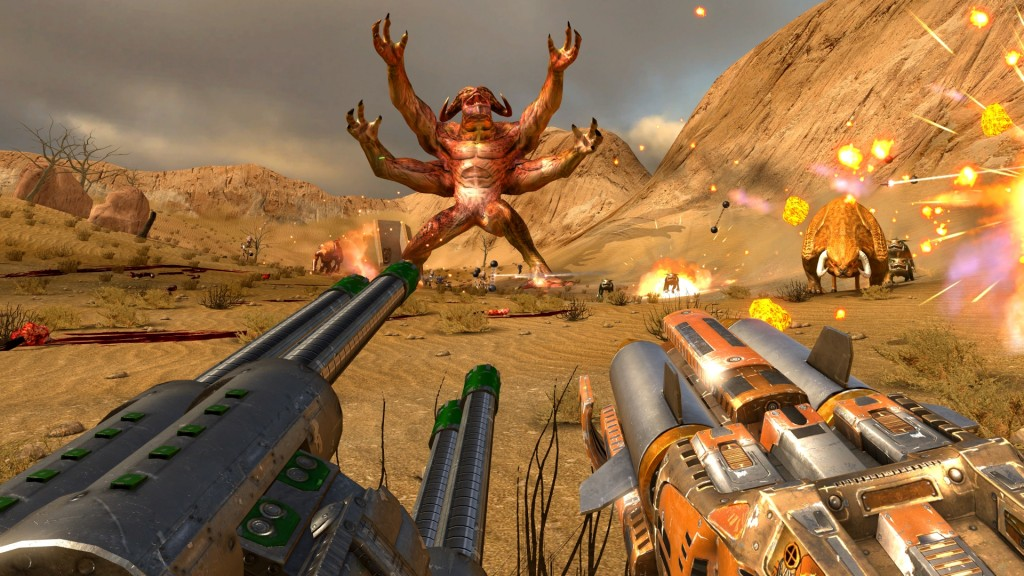 Serious Sam VR wallpapers HD