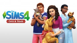 Sims 4 Cats & Dogs Best Wallpaper