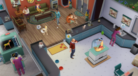 Sims 4 Cats & Dogs Desktop Wallpaper For PC