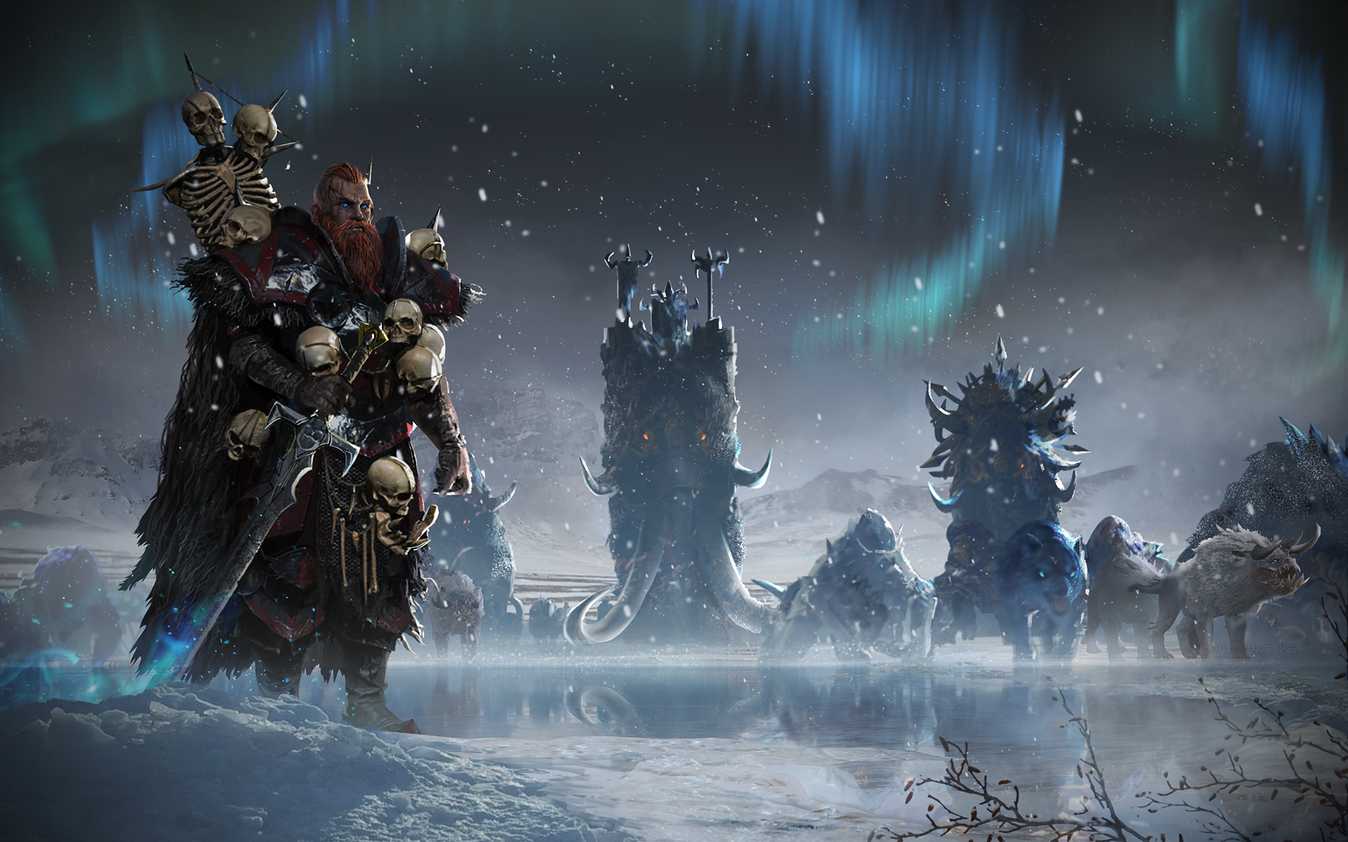 Total War Warhammer Norsca Wallpapers High Quality | Download Free