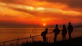 Watch The Sunset Desktop Wallpaper HD