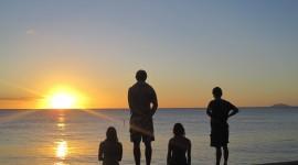 Watch The Sunset Photo Free