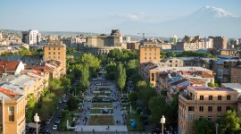 Yerevan Desktop Wallpaper HD