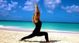 Yoga On The Beach Wallpaper For Desktop
