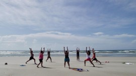 Yoga On The Beach Wallpaper Gallery