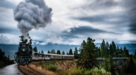 4K Train Rail Photo Free#2