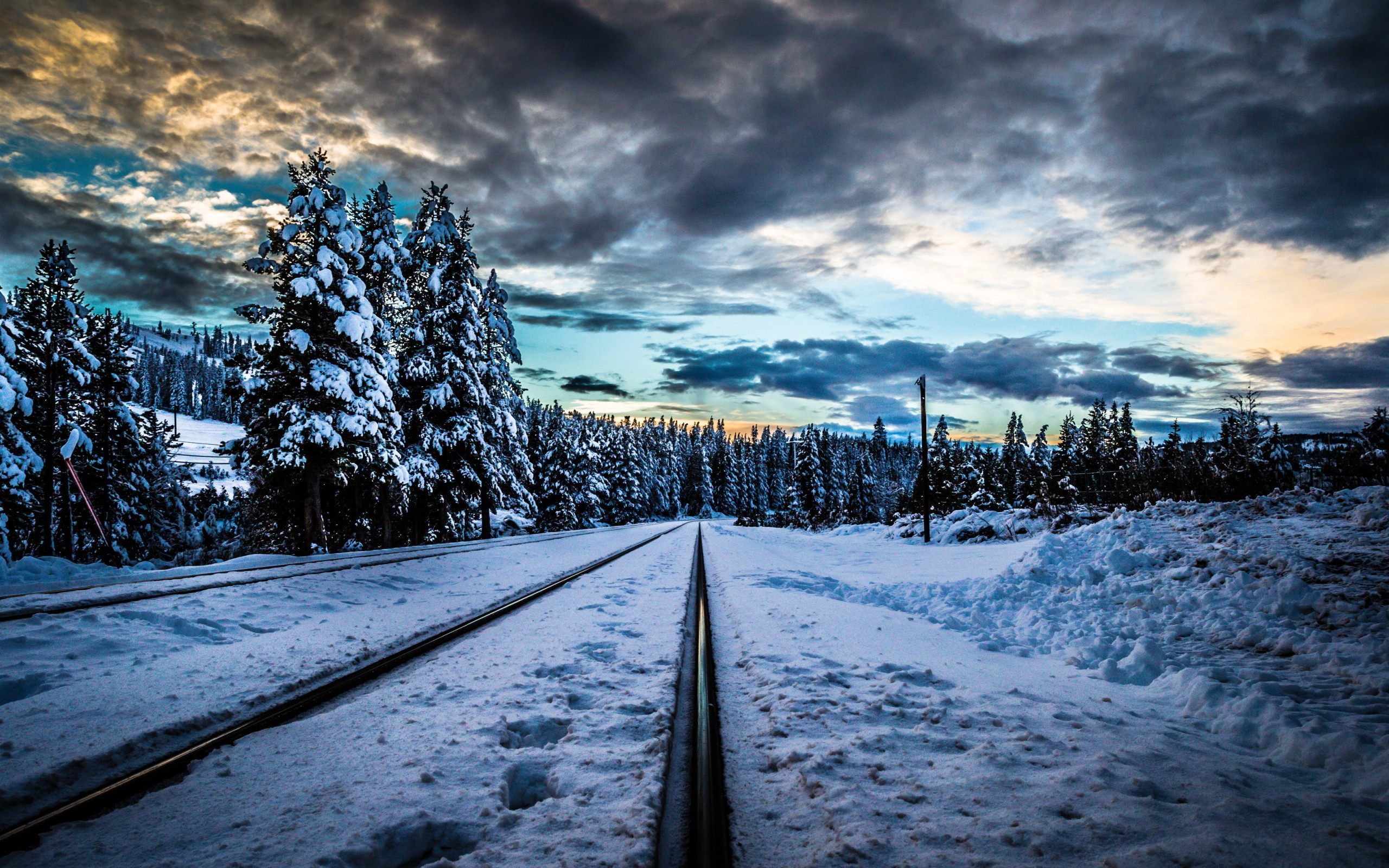 4k Train Rail Wallpapers High Quality Download Free