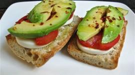 Avocado Sandwich Desktop Wallpaper HD