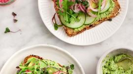 Avocado Sandwich Wallpaper