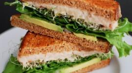 Avocado Sandwich Wallpaper For IPhone Free
