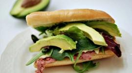 Avocado Sandwich Wallpaper HD