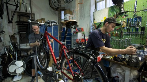 Bicycle Workshop wallpapers high quality