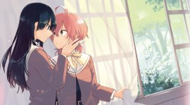 Bloom Into You Wallpaper For PC