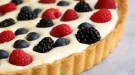 Curd Cream With Fruit Desktop Wallpaper