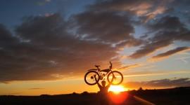 Cycling In Autumn Desktop Wallpaper Free