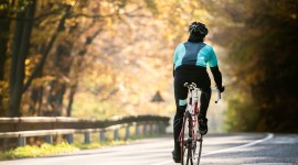 Cycling In Autumn Wallpaper Download Free