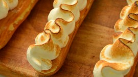 Eclair With Cream Wallpaper For IPhone Download