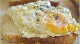 Fried Eggs In Bread Wallpaper For Desktop