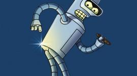 Futurama Bender's Wallpaper For IPhone