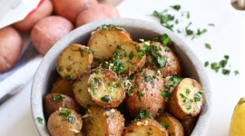 Garlic Potatoes Wallpaper Download Free