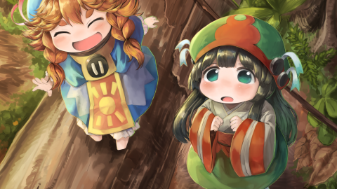 Hakumei And Mikochi wallpapers high quality